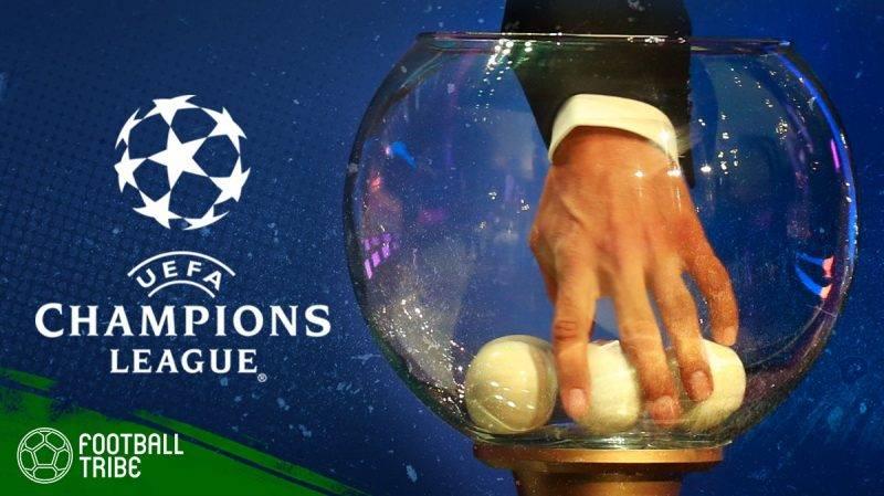 undian babak perempat final Liga Champions