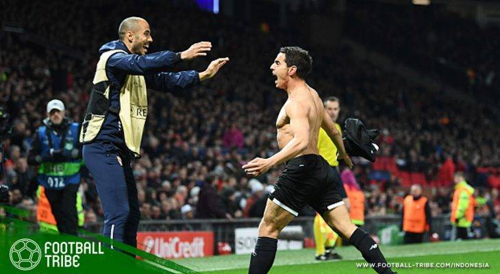 Paket Kejutan Dari Wissam Ben Yedder, Mantan Anak Futsal yang Hempaskan Manchester United di Liga Champions
