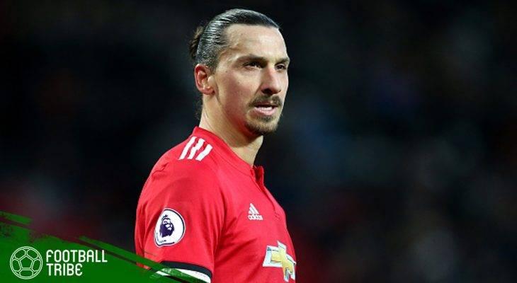 Mengenang Dua Musim Zlatan Ibrahimovic di Manchester United