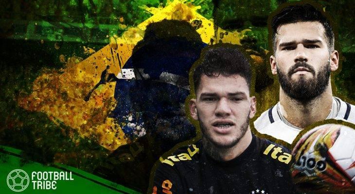 Alisson Becker dan Ederson Moraes, Ketika Kiper Menjadi Pemimpin Brasil