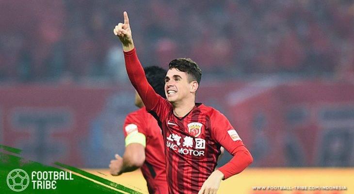 Cetak Dua Gol Cantik, Oscar Jadi yang Tersubur Kedua di Liga Champions Asia