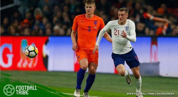 Rekor Memalukan Jamie Vardy: Gagal Menyentuh Bola di Laga Inggris Melawan Belanda