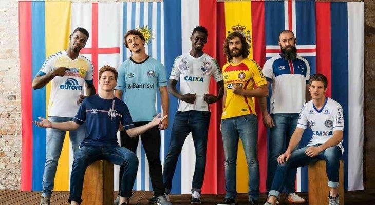 Tujuh Klub Brasil Rilis Desain Jersey Bertema Negara-Negara Peserta Piala Dunia