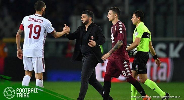 Milan Belum Menang Sejak Gattuso Perpanjang Kontrak