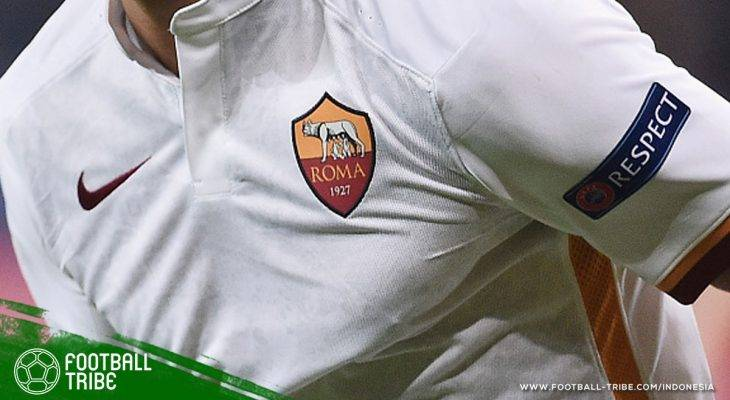 Logo AS Roma Disensor di Iran karena Memperlihatkan Puting Serigala