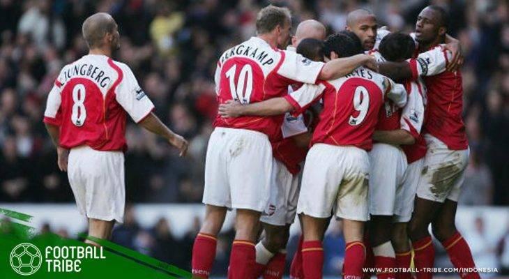 25 April, Ketika Arsenal Mengunci Gelar Juara Invincibles di White Hart Lane