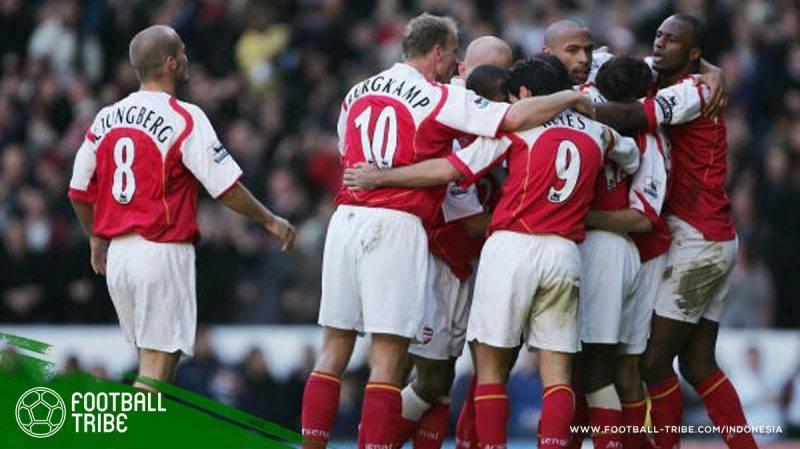 Arsenal dan Wenger merayakan kemenangan