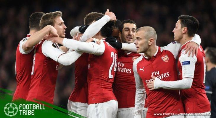 Ramsey-Lacazette Cetak Empat Gol, Arsenal Berhasil Menang Telak