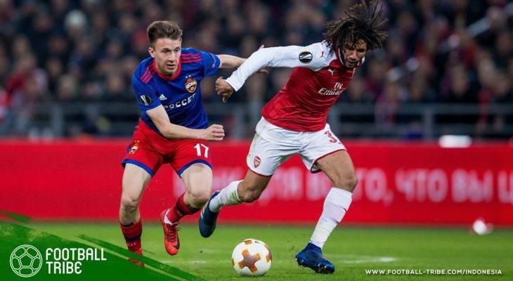 Arsenal Gagalkan Usaha Comeback CSKA di Liga Europa