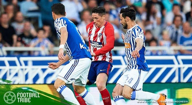 Rekap Jornada 33 La Liga: Atletico Hancur di Anoeta, Barcelona Selangkah Lagi Juara