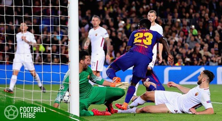 Akrabnya Barcelona dan Gol Bunuh Diri di Liga Champions Eropa Musim Ini