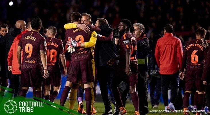 10 Laga Krusial Barcelona dalam Perjalanan Menuju Takhta La Liga Musim Ini