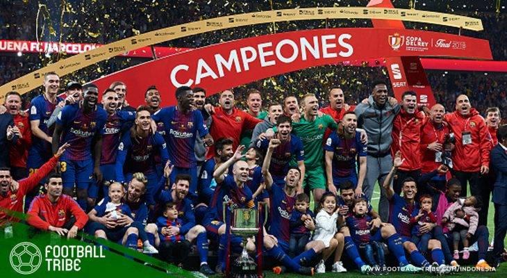 Tribe Rating: Semua Pemain Tampil Gemilang, Barcelona Berondong Lima Gol ke Gawang Sevilla