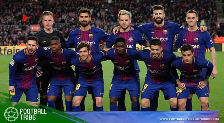 Rekap Jornada 31 La Liga: Barcelona Catat Rekor (Lagi), Valencia Geser Real Madrid dari Posisi Tiga