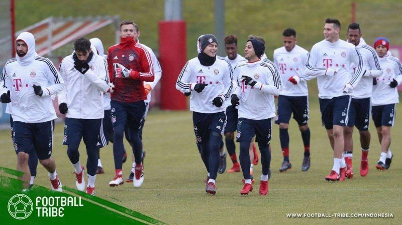 latihan FC Bayern München