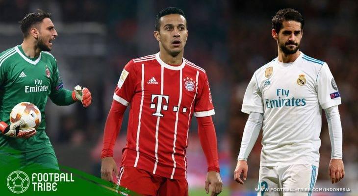Best XI Liga Top Eropa Edisi 14-16 April 2018