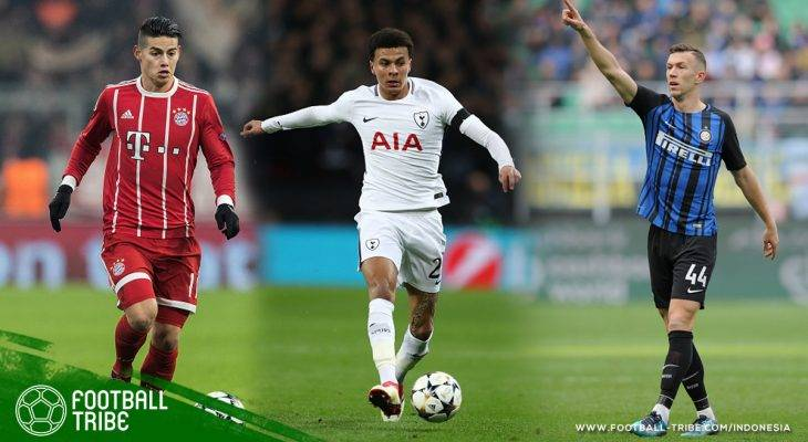 Best XI Liga Top Eropa Edisi 31 Maret – 2 April 2018