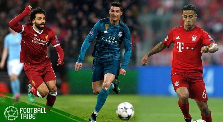 Best XI Perempat-final Liga Champions Leg Pertama
