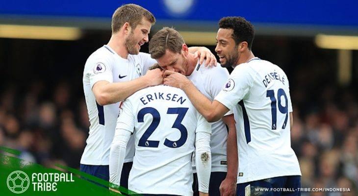 Tottenham Hotspur Ukir Kemenangan Perdana di Stamford Bridge