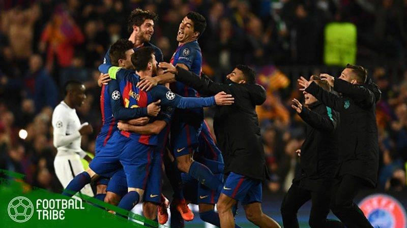 comeback terbaik yang pernah terjadi di ajang Liga Champions