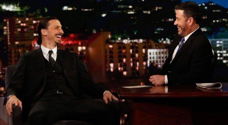 Komentar-Komentar Zlatan Ibrahimovic di Acara Jimmy Kimmel Live