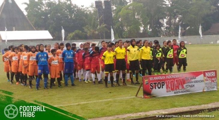Kartini Cup 2018: Ketika Srikandi Lapangan Hijau Menebar Pesona di Bantul