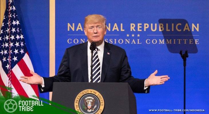 Ancaman Donald Trump kepada Pihak yang Tidak Mendukung AS Jadi Tuan Rumah Piala Dunia 2026
