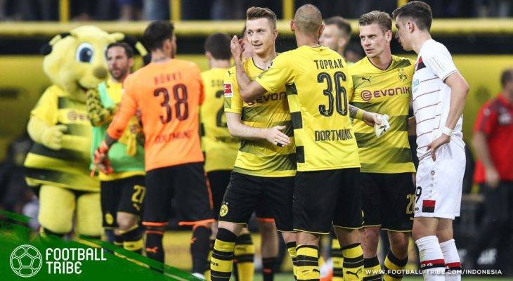 Marco Reus Jadi Pahlawan, Dortmund Bantai Leverkusen