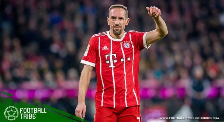 35 Tahun Franck Ribéry: Tentang Bekas Luka yang Menjadi Pemicu Kesuksesan Kariernya