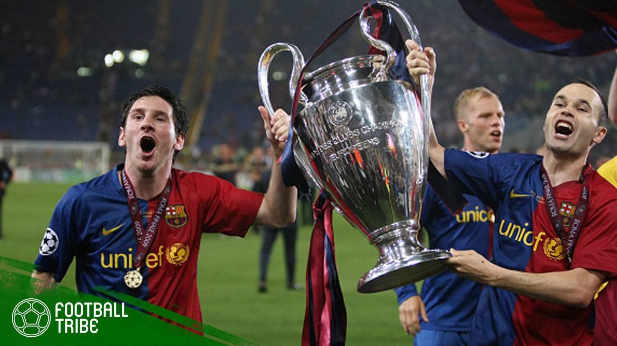 Momen-Momen Terbaik Andres Iniesta bersama Barcelona