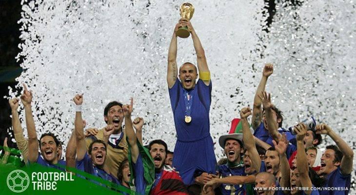 Skuat Italia di Final Piala Dunia 2006, di Mana Mereka Sekarang?
