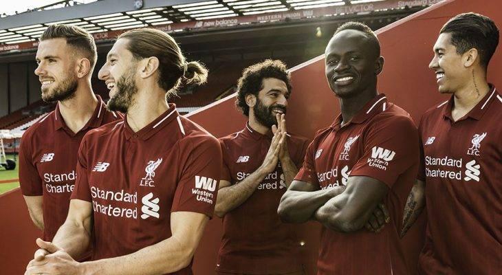 Liverpool Perlihatkan Jersey yang akan Mereka Pakai Musim 2018/2019