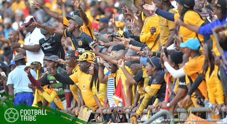 Pertandingan Sepak Bola Antara Kaizer Chiefs dan Free State Stars di Afrika Selatan Berakhir Ricuh