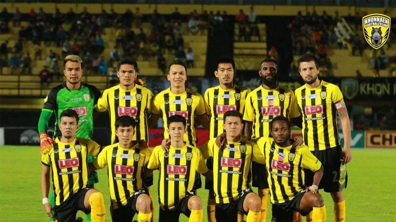 Khon Kaen FC mengoleksi 16 poin