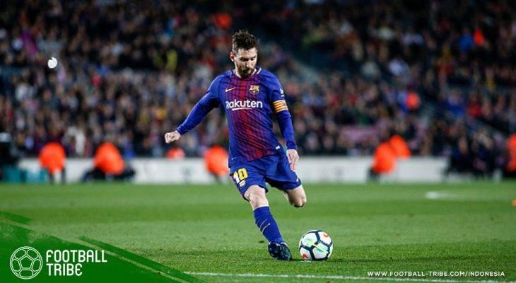 Hattrick Messi Perkokoh Rekor Tak Terkalahkan Barcelona dan Dekatkan Gelar