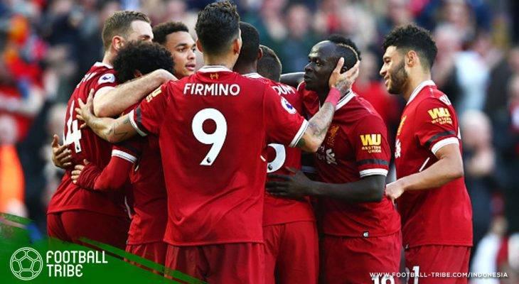Banjir Rekor dalam Kemenangan Liverpool atas Bournemouth