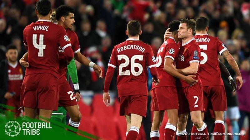 Liverpool berhasil membungkam tamunya