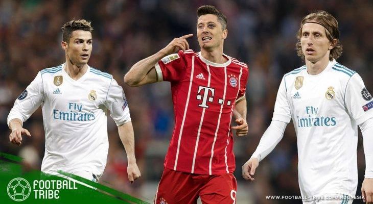 Kesebelasan Terbaik Gabungan Bayern München dan Real Madrid