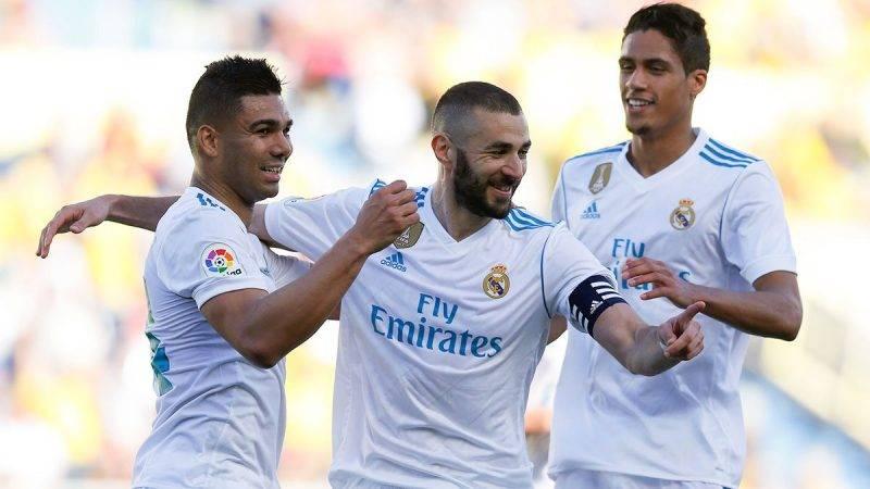 Madrid mampu unggul telak tiga gol