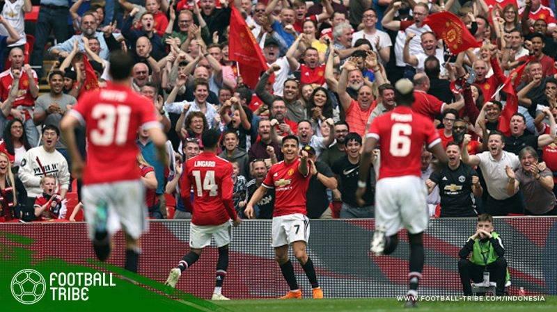 Setan Merah ke partai puncak Piala FA