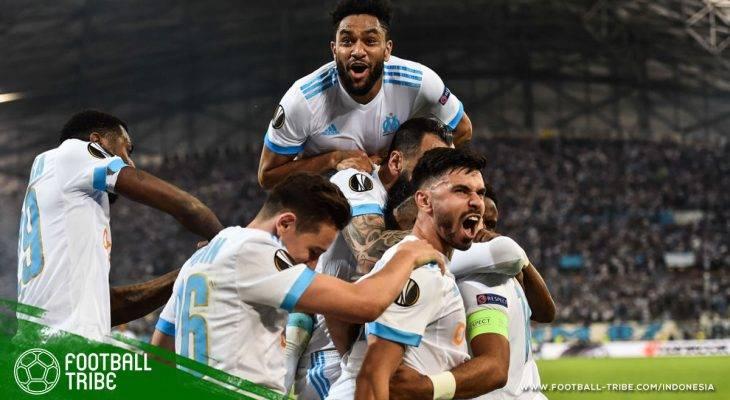 Marseille Permak Salzburg di Stadion Velodrome