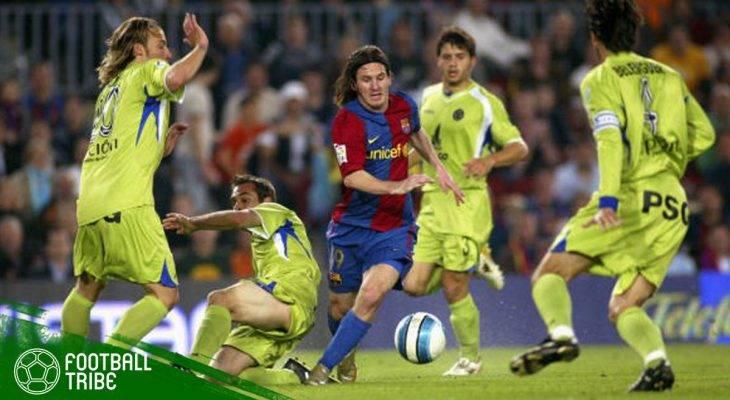 11 Tahun Lalu, Gol Diego Maradona ala Lionel Messi yang Mencengangkan