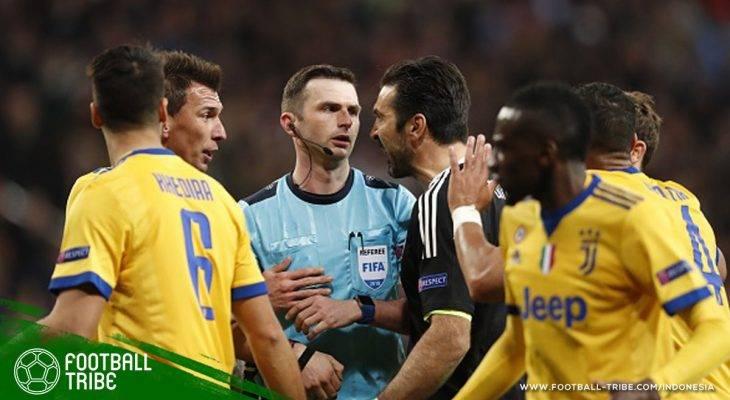 Gianluigi Buffon Dihukum Tiga Laga di Kompetisi Eropa akibat Ucapan ke Michael Oliver