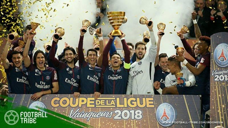 Les Parisiens mampu meraih trofi perdana