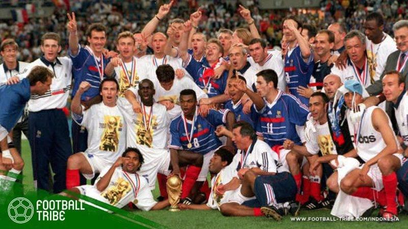 tim nasional Perancis akhirnya berhasil merebut trofi