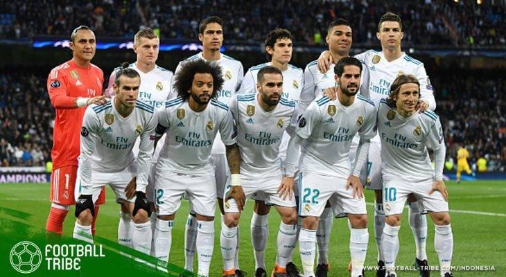 Bedah Semifinalis Liga Champions Eropa 2017/2018: Real Madrid yang Mengejar Hat-trick