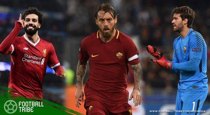 Best XI Gabungan Pemain Liverpool dan AS Roma, Setuju Pilihan Kami?