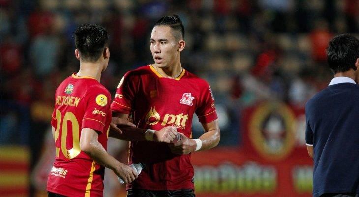 Ryuji Utomo dan PTT Rayong Selangkah Lagi Juara Thai League 2