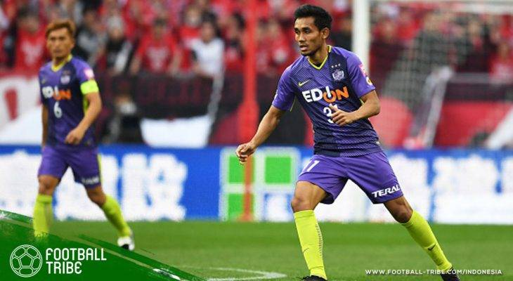 Gol Teerasil Dangda Antar Sanfrecce Hiroshima Puncaki Klasemen J.League