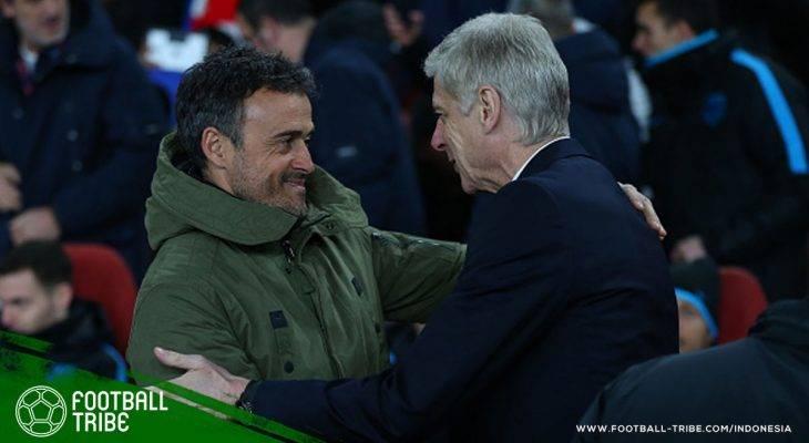 Arsene Wenger Tebar Kekaguman kepada Luis Enrique